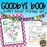 Student Teacher Goodbye Book! Thank You Gift, Memory & Advice