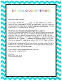 Student Teacher Introductory Letter to Parents