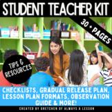 Student Teacher Kit- Tips & Printable Forms for Student &