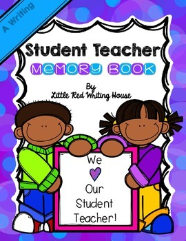 Student Teacher Memory Book