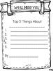 Student Teacher Memory Book