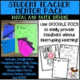 Student Teacher Mentor Pack - Digital and Hard Copy Resources