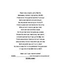 Student Teacher Poem