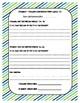 Student-Teacher Problem Solving Conference Form