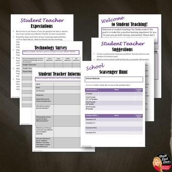 Student Teacher Resource Kit EDITABLE