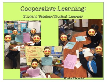 Student Teacher/ Student Learner **Cooperative Learning Strategy**
