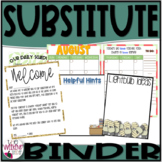 Student Teacher Survival Binder (apple theme)