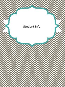 Student Teacher/Teacher Binder
