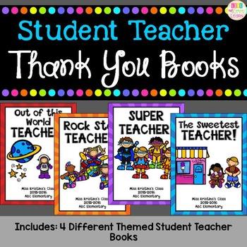 Student Teacher - Thank You Book