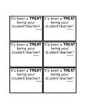 Student Teacher Treat Tags