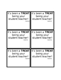 Student Teacher Treat Tags