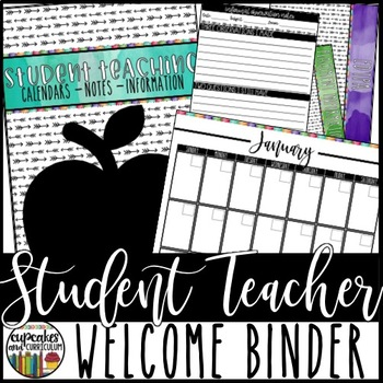 Student Teacher Welcome Binder