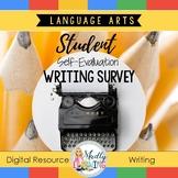 Student Teacher Writing Conference - Digital Writing Survey