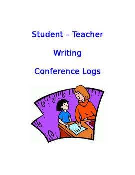 Student-Teacher Writing Conference Logs