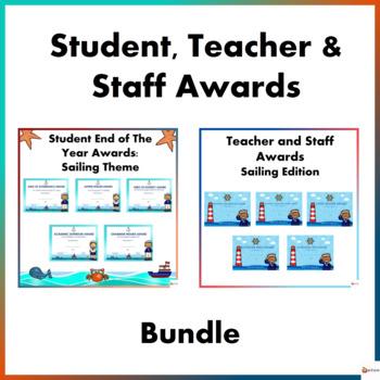 Student, Teacher and Staff Awards Bundle