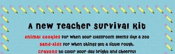 Student Teacher or New Teacher Gift Basket