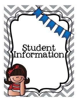 Student Teaching Binder - Kid Version!