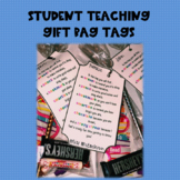 Student Teaching Gift Bag Tags