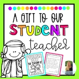 Student Teaching Goodbye Book