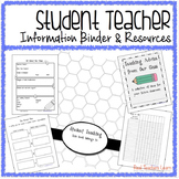 Student Teacher Information Binder and Cooperating Teacher Resources