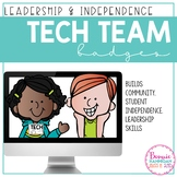 Student Tech Team Badges