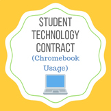 Student Chromebook Usage Contract