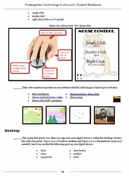 Technology Curriculum Student Workbook 6th ed: Kindergarten