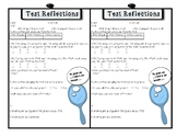 Student Test Reflections