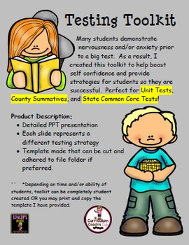 Student Testing Toolkit: Great for Unit Tests and State Tests
