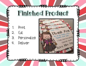 Student Thank You Cards *FREEBIE*