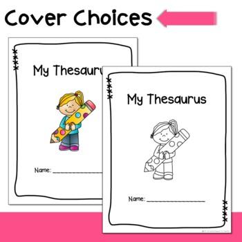 Student Thesaurus and Activities
