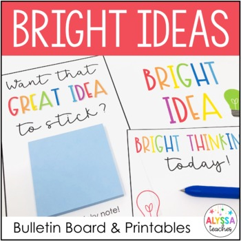 Student Thinking Bulletin Board Banners and Printables