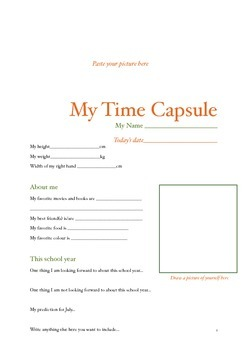 Student Time Capsule