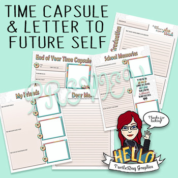 Student Time Capsule and Letter to Future Self