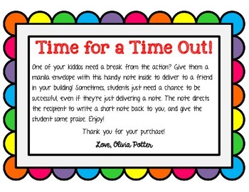 Student Time Out
