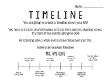Student Timeline Assignment