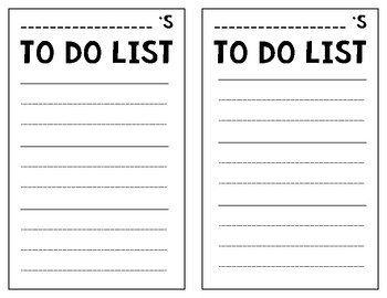 Student To Do List