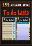 Student To Do Lists Dr Seuss Theme