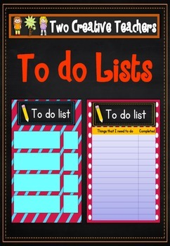 Student To Do Lists Dr Seuss Theme
