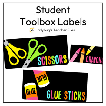 Student Toolbox Labels