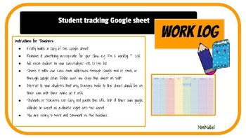 Student Tracking Google Worklog