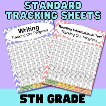 Student Tracking Sheets for MN State Standards - Grade 5