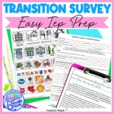 Student Transition Worksheet and Parent Survey for LIFE Skills
