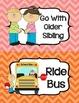 Transportation Clip Chart - Cute Chevrons