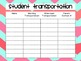 Student Transportation Forms Printable