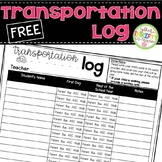 Student Transportation Log