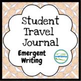 Student Travel Journal (Emergent Writing)