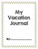 Student Vacation Journal