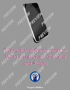 Student Video Demonstration/Explanation Project Rubric/Assessment