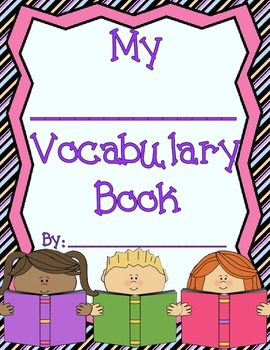 Student Vocabulary Books - Fits Any Subject Matter